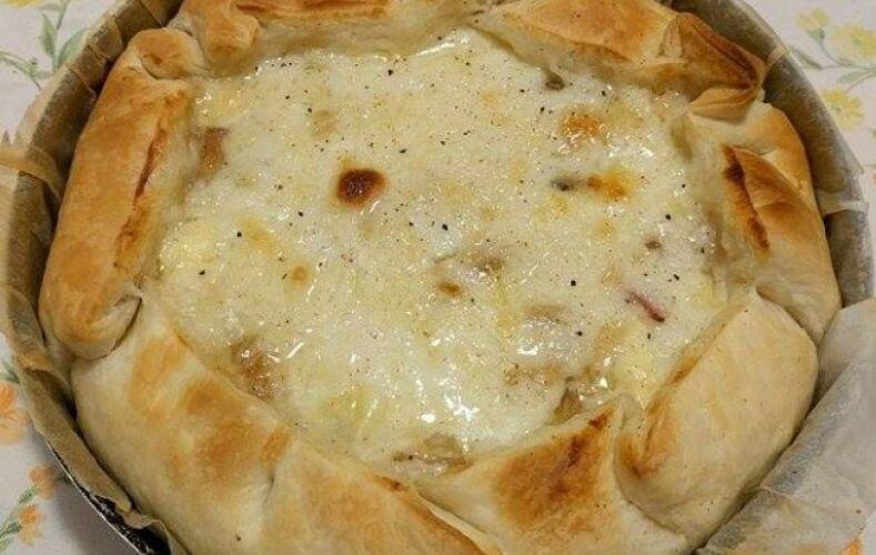 torta-salata-funghi-formaggi-besciamella