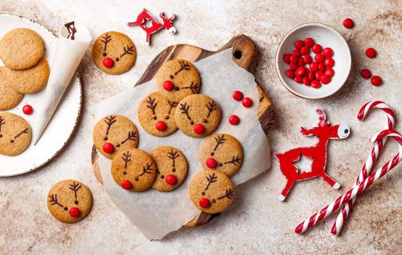 Ricetta Biscotti Renna Di Natale