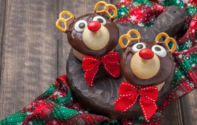 Ricetta Muffin Renna Natale