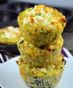 tortini-quinoa-al-forno-veg-zucchine