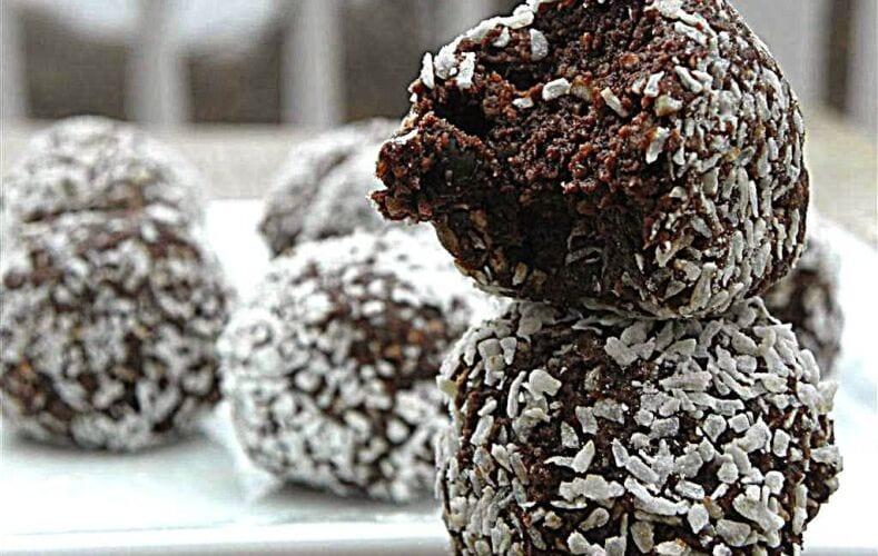 Palline-al-Cioccolato-e-Cocco