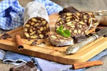 Ricetta Salame Al Cioccolato