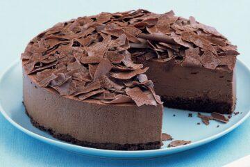 Cheesecake-alla-Mousse-di-Cioccolato-torta