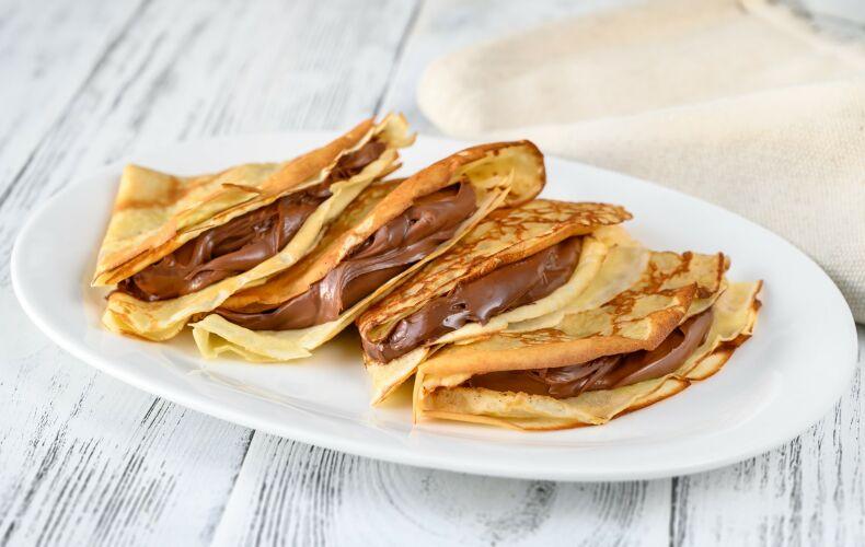 Ricetta Crepes Alla Nutella