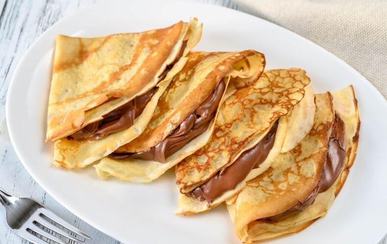 Ricetta Crepes Con Nutella