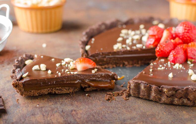 Ricetta Crostata Cioccolato Caramello Mou