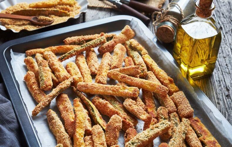 Ricetta Zucchine Croccanti Al Forno 1
