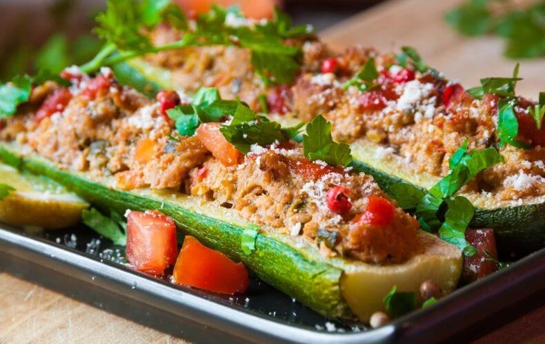 Ricetta Zucchine Ripiene Facili Veloci