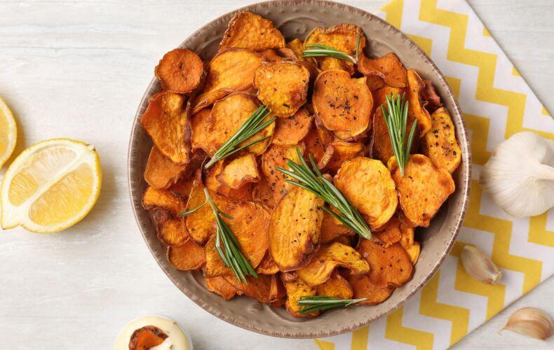 Ricetta Chips Di Zucca