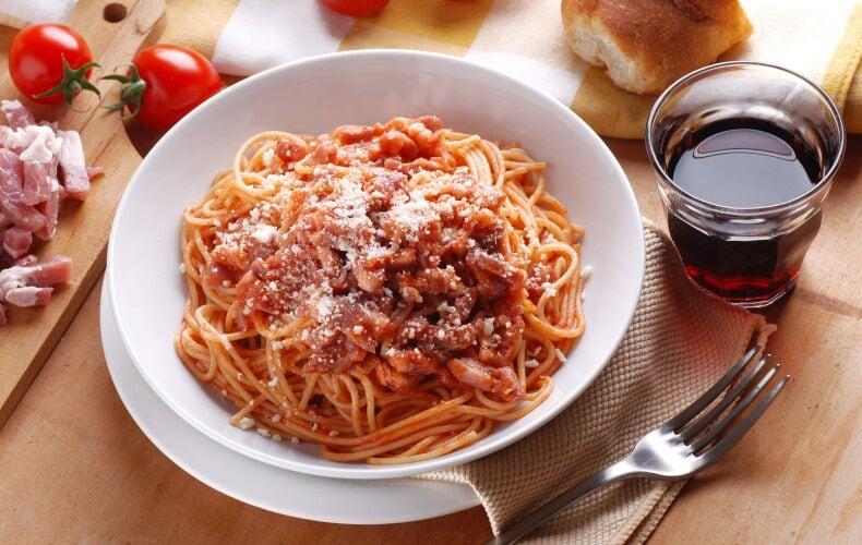 Ricetta Originale Spaghetti Amatriciana