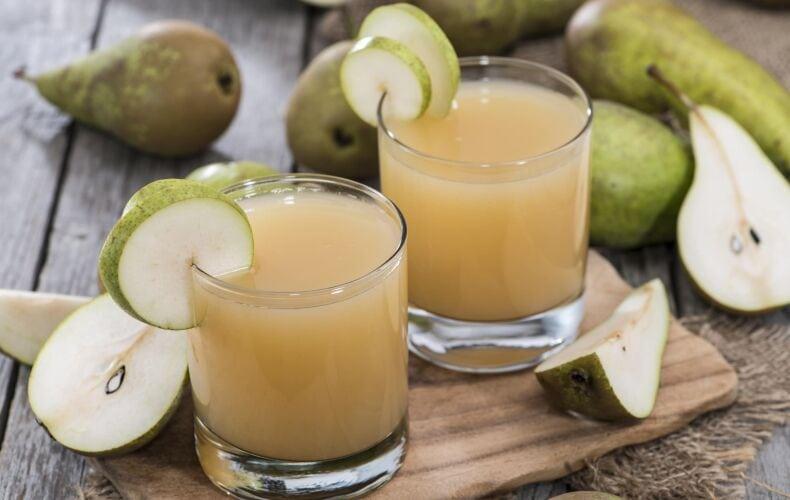 Ricetta Succo Di Frutta Alla Pera Fatto In Casa