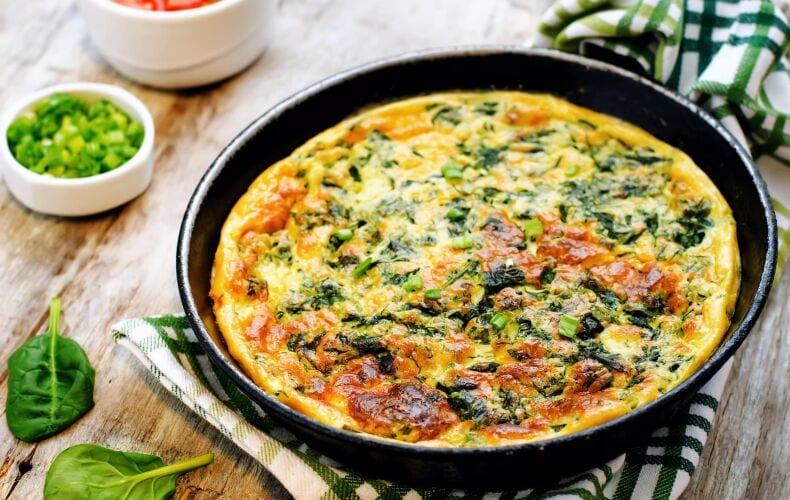 frittata-spinaci