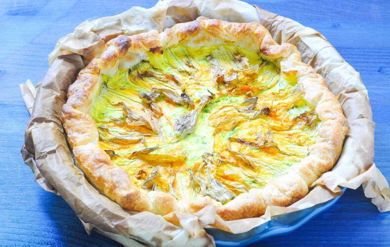 torta-salata-fiori-zucca