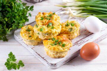 Ricetta Frittatine Al Forno Con Verdure