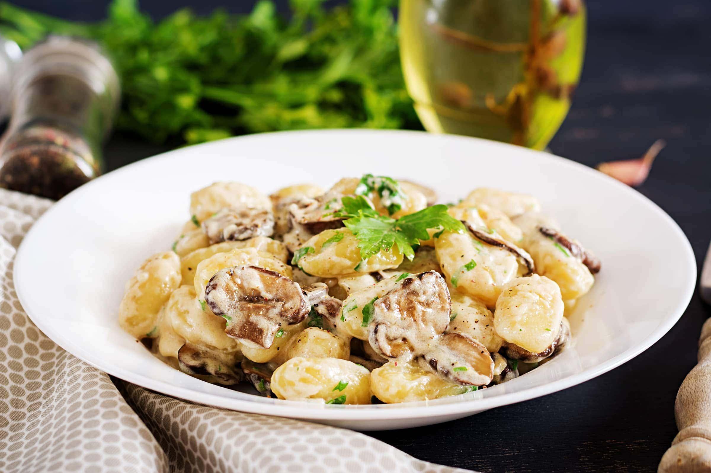 Ricette Gnocchi Con Funghi.Rblrcaets2pegm