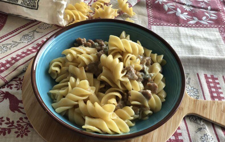 Pasta Salsiccia e Gorgonzola
