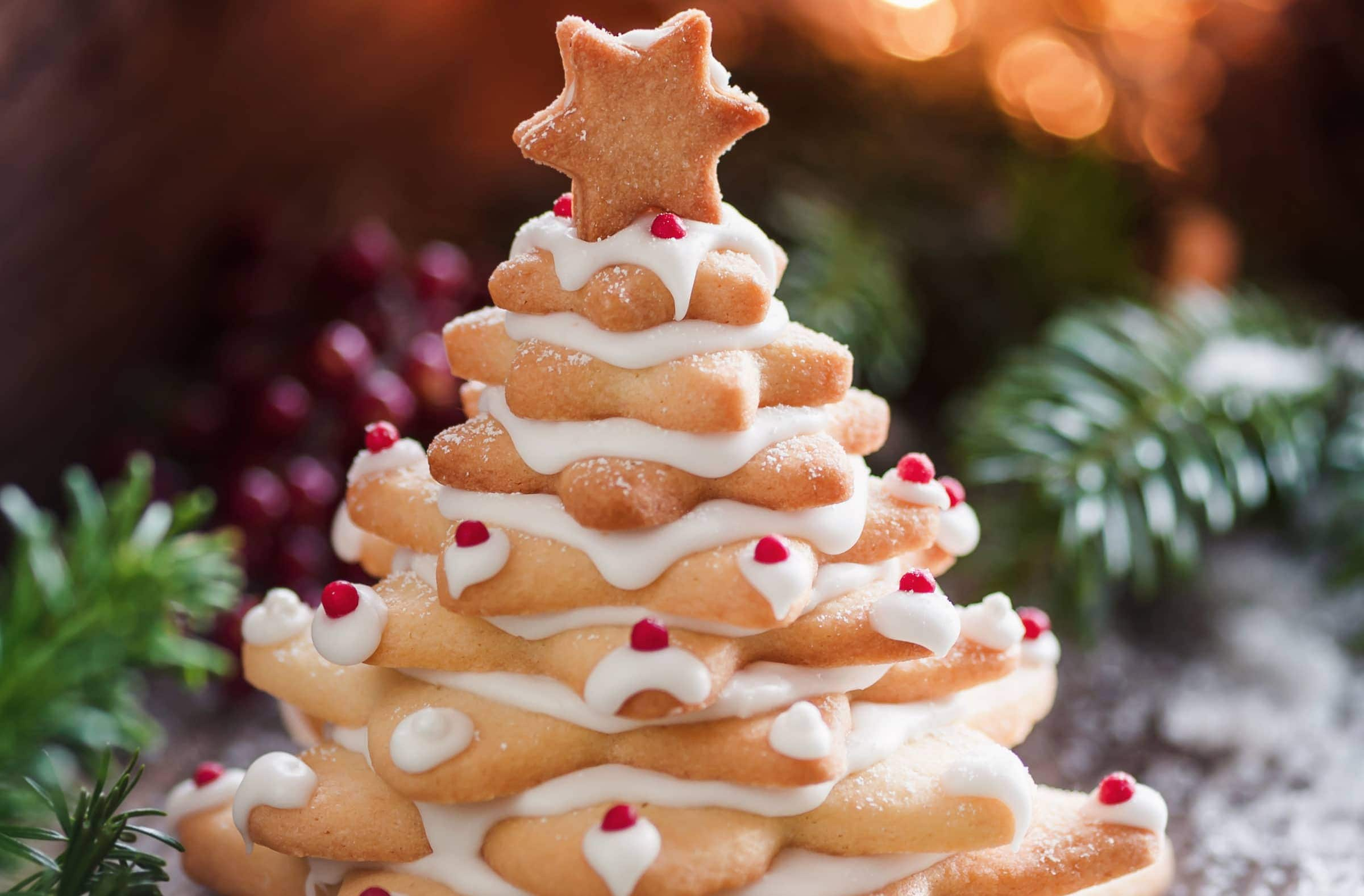 Albero Di Natale Con Biscotti.Ricetta Albero Di Natale Di Biscotti Il Club Delle Ricette