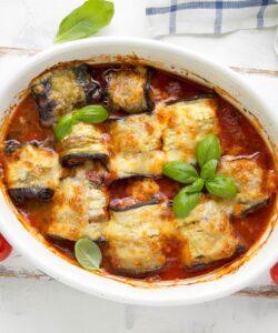 Ricetta Cannelloni Melanzane Salsiccia