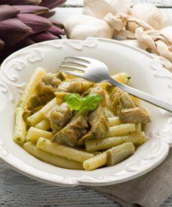 pasta-con-crema-carciofi