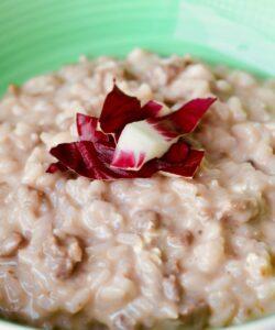 ricetta-risotto-radicchio-e-salsiccia