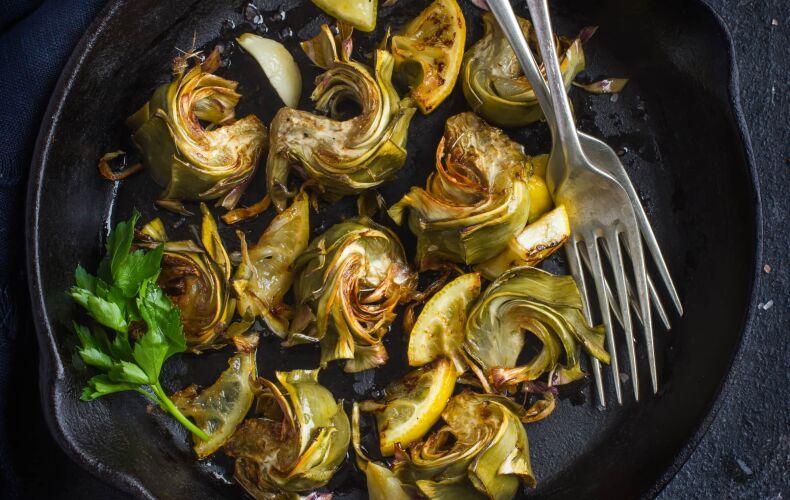 Carciofi-all-aglio