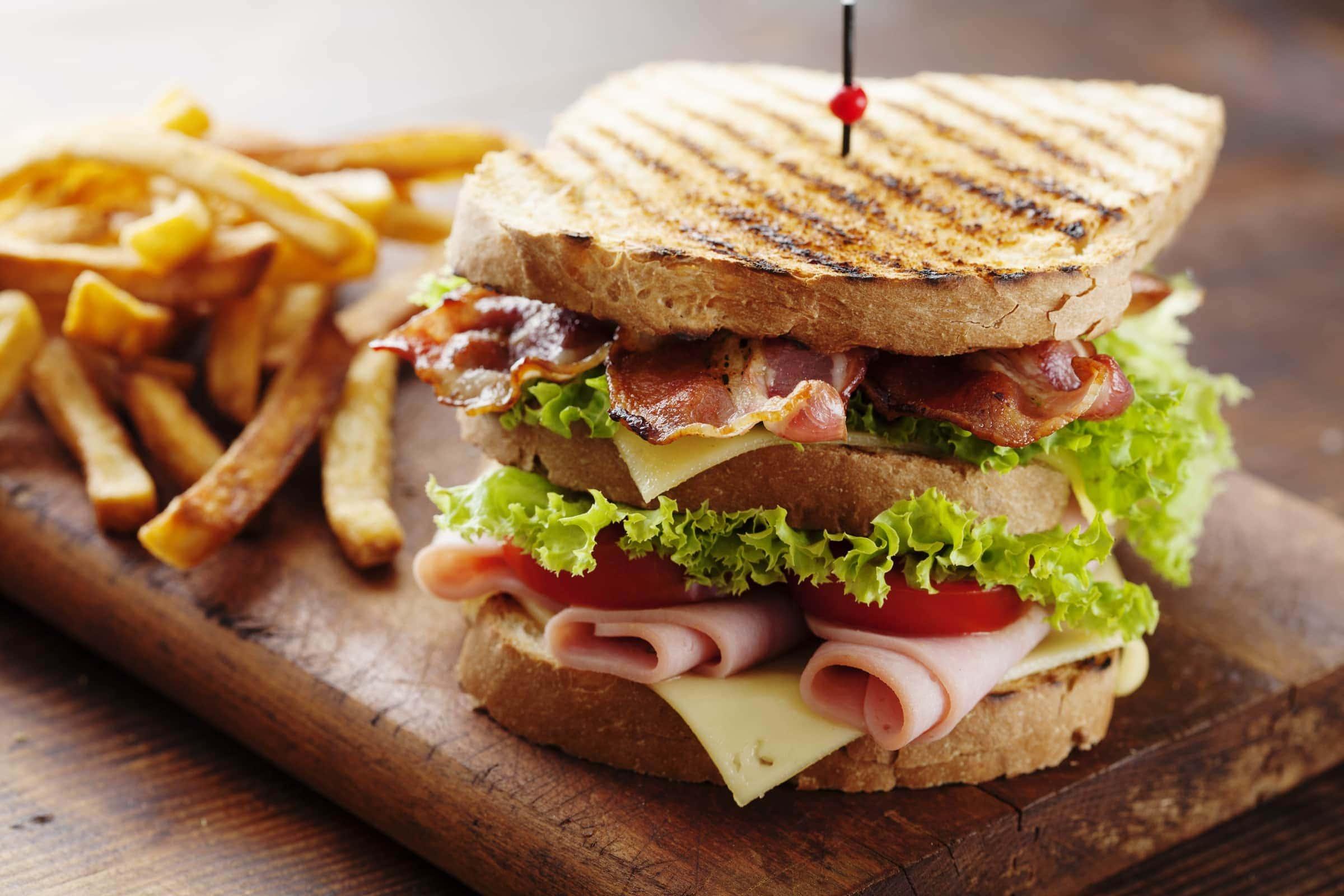 Ricetta Club Sandwich Il Club Delle Ricette
