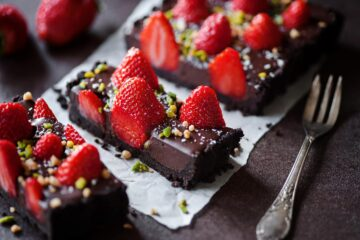 crostata-cioccolato-e-fragole