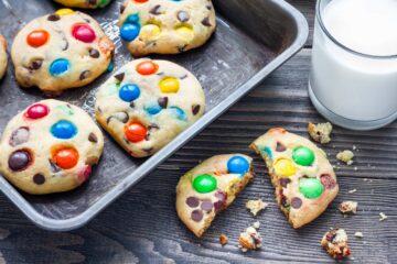 ricetta-M-&-m-'-s-Cookies