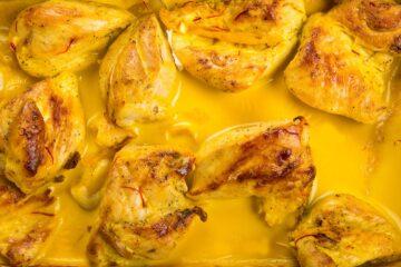 ricetta-pollo-allo-zafferano