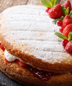 ricetta-victoria-sponge-cake