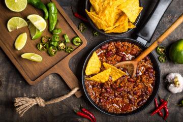 Ricetta Chili Con Carne E Fagioli