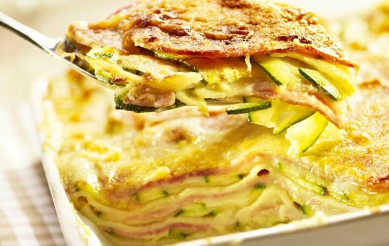 Ricetta Ricetta Lasagne Di Zucchine E Prosciutto