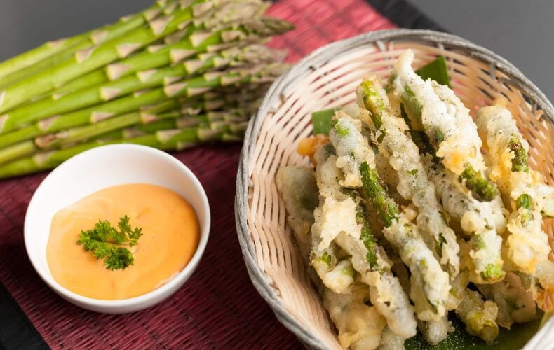 Ricetta Asparagi Fritti