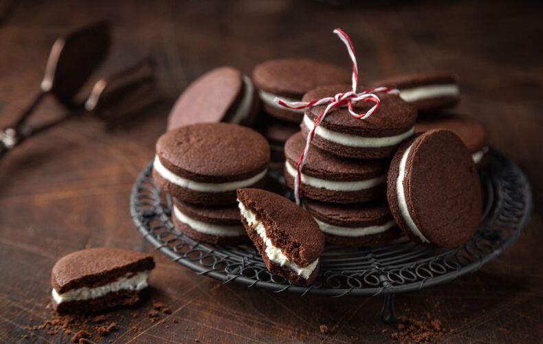 Ricetta Biscotti Cioccolato E Crema