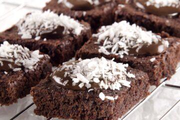 brownies al cocco