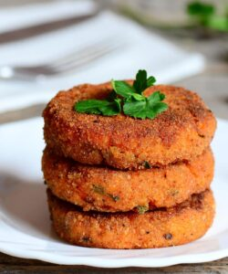 hamburger di carote