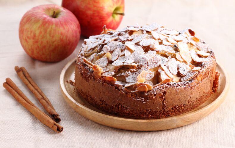 torta-di-mele-e-mandorle