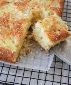 torta ananas e cocco senza glutine