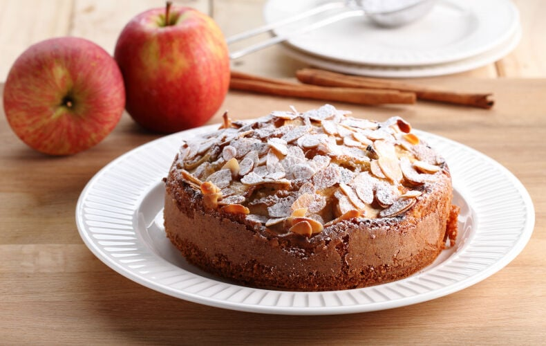 Ricetta Torta Mele E Mandorle