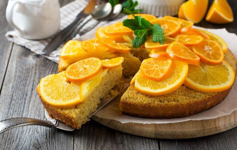 Ricetta Torta Polenta Arancia