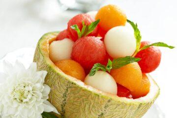 insalata di melone e anguria