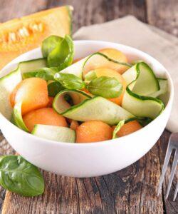 insalata di melone e cetrioli