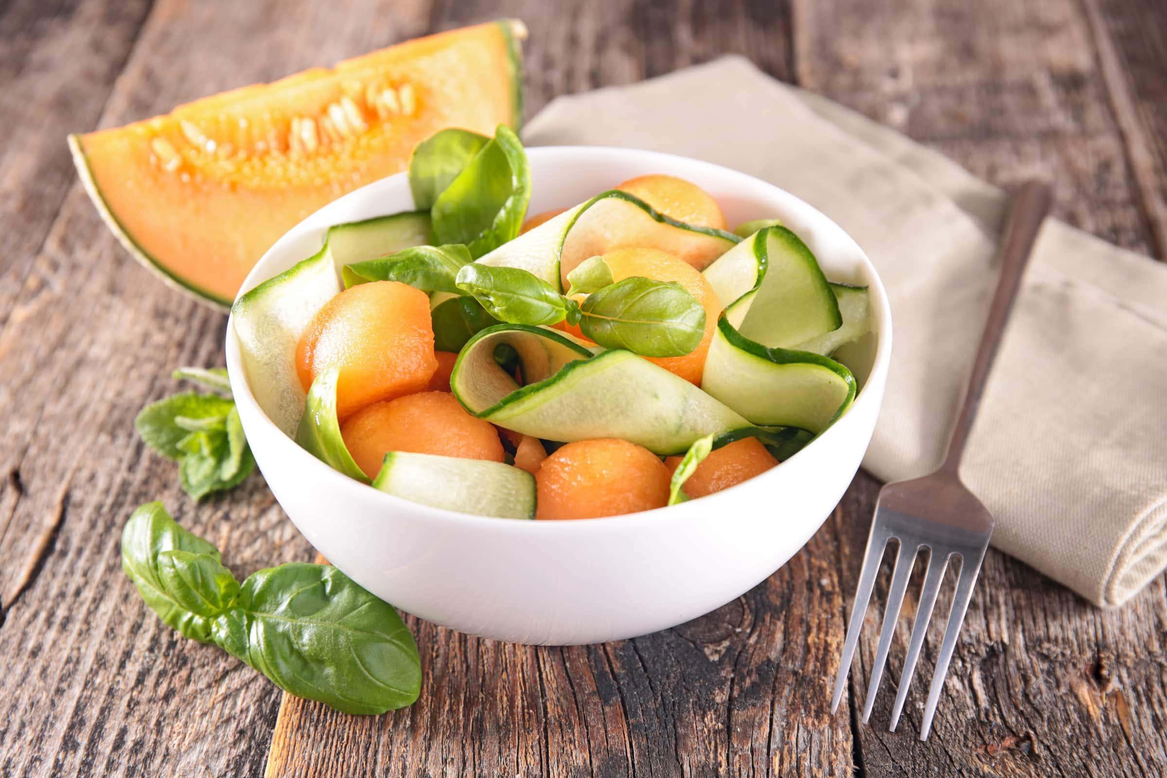 Ricetta Insalata di Melone e Cetrioli
