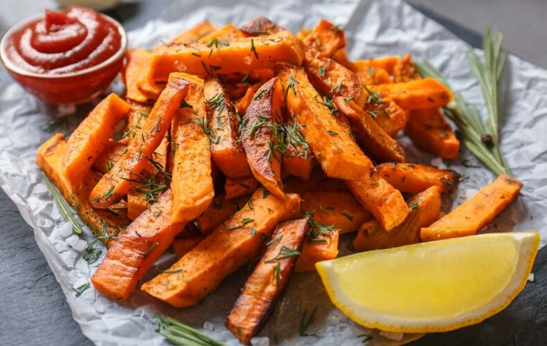 patate americane al forno con rosmarino