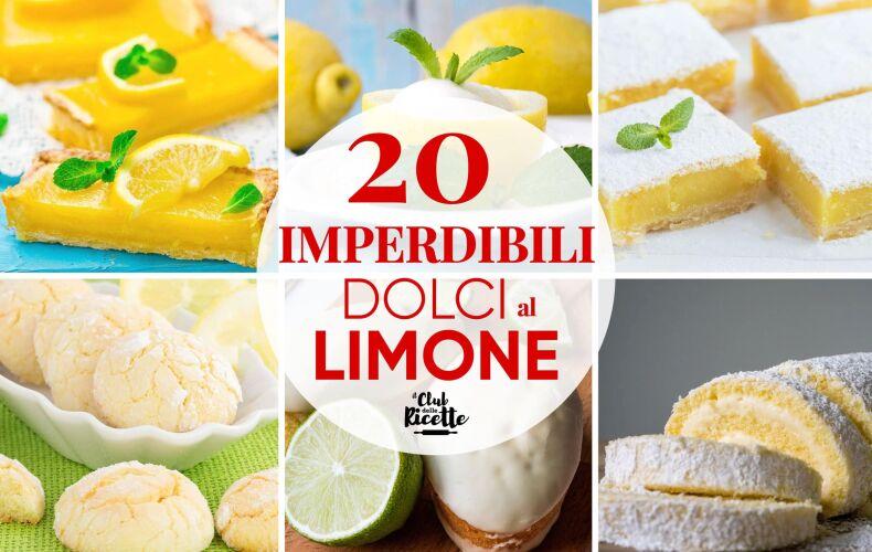 Ricette Di Dolci Al Limone