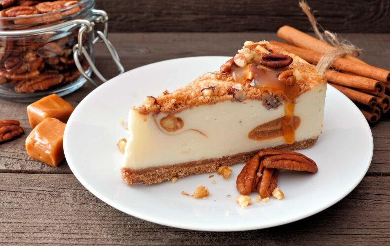 Ricetta Cheesecake Noci Pecan