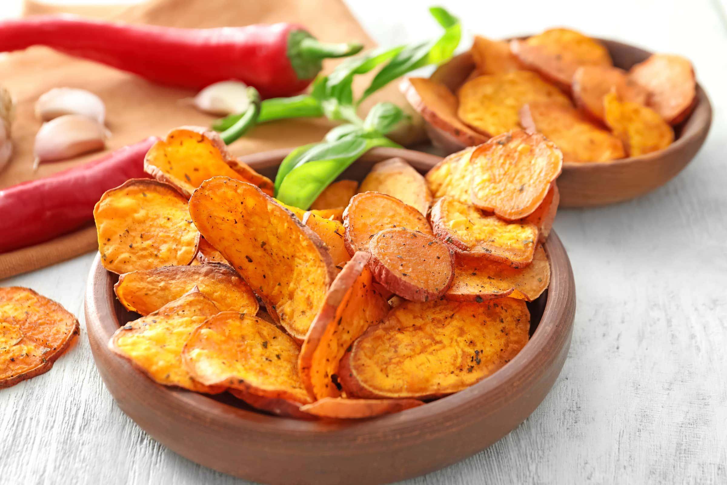 Ricetta Chips Di Patate Dolci Americane Il Club Delle Ricette