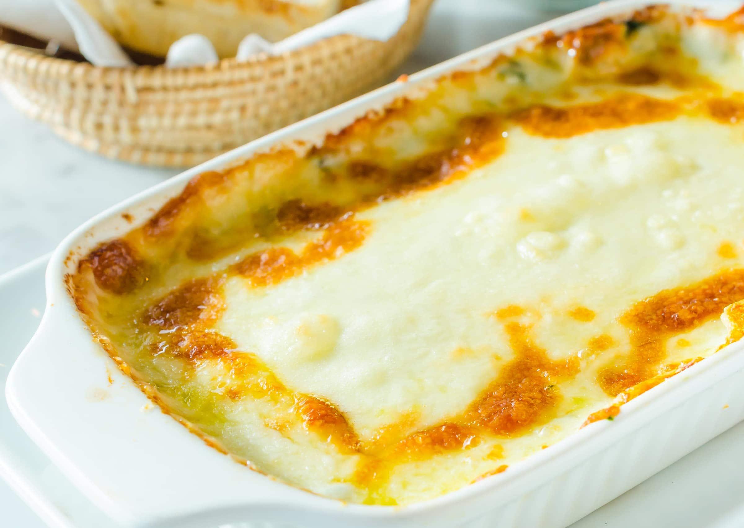 Ricetta Delle Lasagne Ai Quattro Formaggi.Ricetta Lasagne Bianche Ai Quattro Formaggi Il Club Delle Ricette