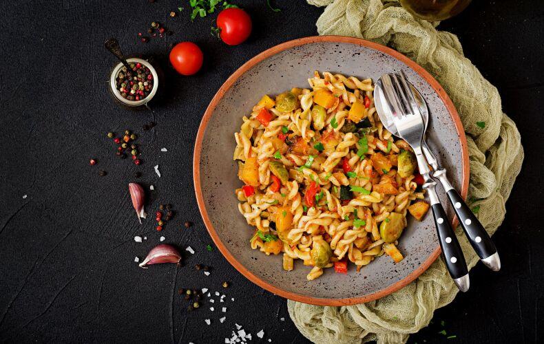 Ricetta Fusilli Zucca Verdure