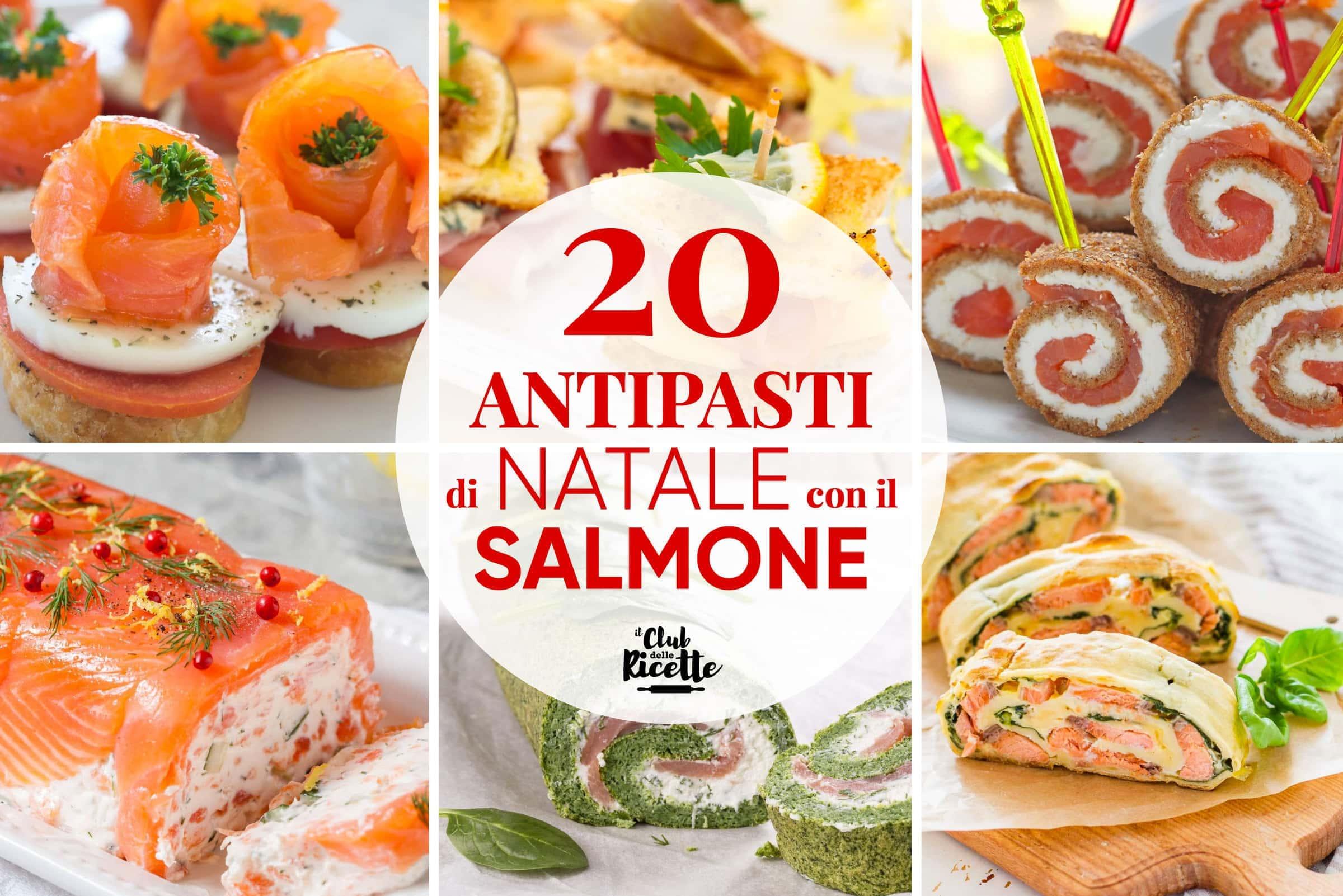 Antipasti Classici Di Natale.Le 20 Migliori Ricette Per Antipasti Di Natale Con Il Salmone Il Club Delle Ricette